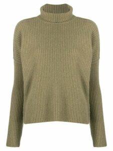 Alyki ribbed knit jumper - Green