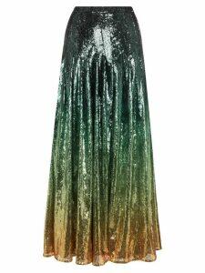 Mary Katrantzou Clement ombré sequinned skirt - Multicoloured