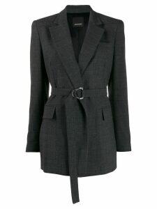 Pinko belted blazer - Grey
