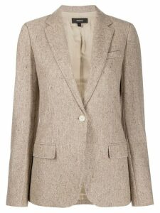 Theory single button blazer - Neutrals