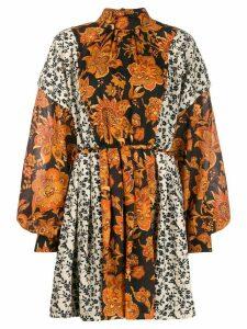 Dodo Bar Or Erin floral-print dress - Black