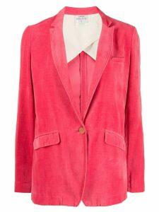 Forte Forte velvet Alba blazer - Pink