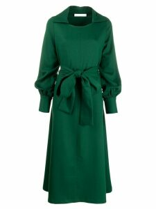 Société Anonyme belted maxi dress - Green