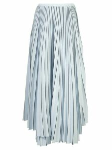 Proenza Schouler striped pleated skirt - Blue