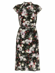 Erdem Olivera floral print dress - Black