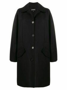 Ann Demeulemeester oversized pocket coat - Black