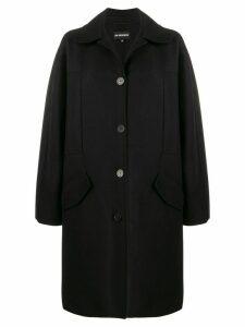 Ann Demeulemeester oversized pocket coat - Black