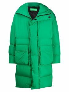 A.A. Spectrum oversized down coat - Green