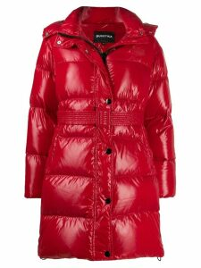 Duvetica hooded padded coat - Red