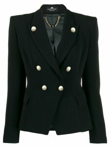 Elisabetta Franchi slim-fit blazer - Black