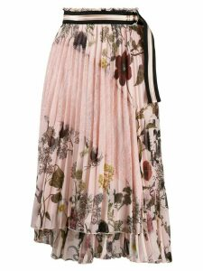 Ermanno Ermanno floral print pleated skirt - Pink
