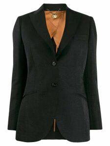 Maurizio Miri single breasted blazer - Black