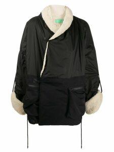 A.A. Spectrum shearling lining coat - BLACK