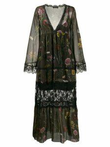 Ermanno Ermanno floral print dress - Green