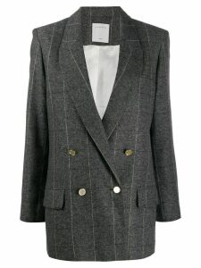 Sandro Paris double-breasted blazer - Grey