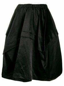 Comme Des Garçons Comme Des Garçons asymmetric balloon skirt - Black