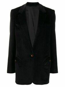 Blazé Milano corduroy tailored blazer - Black