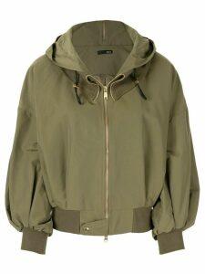Frei Ea hooded bomber jacket - Green