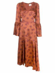Cinq A Sept Kasha silk dress - Red