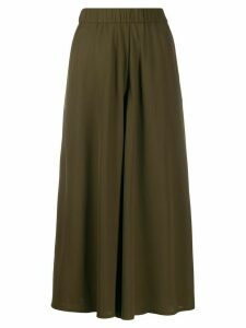Aspesi cropped jersey trousers - Green