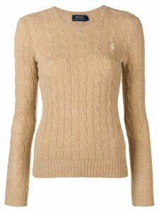 Polo Ralph Lauren classic cable-knit sweater - Neutrals