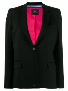 PS Paul Smith one-button blazer - Black