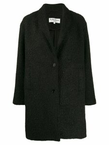 YMC faux shearling coat - Black
