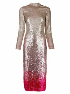 Temperley London Opia sequined cocktail dress - PINK