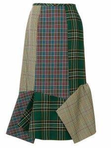 Enföld mixed check skirt - Multicolour