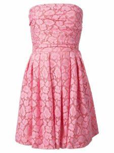 Moschino Cheap & Chic strapless lace dress - Pink