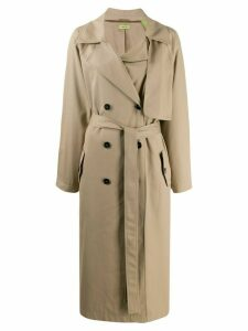 GAUGE81 Nairobi trench coat - Brown