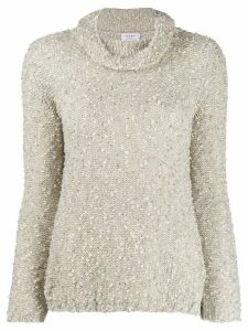 Snobby Sheep knitted turtleneck jumper - Neutrals