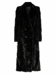 Amiri double-breasted coat - Black