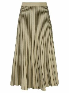 Proenza Schouler metallic thread midi skirt - GOLD