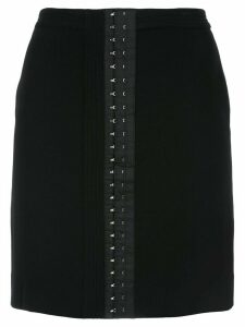 Mugler Jupe mini eyelet skirt - Black