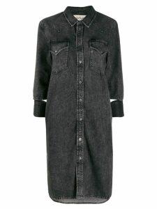 Diesel western denim dress - Grey