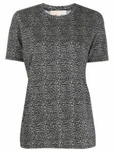 Michael Michael Kors cheetah print T-shirt - Black
