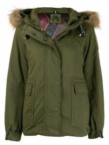 Alessandra Chamonix hooded parka coat - Green
