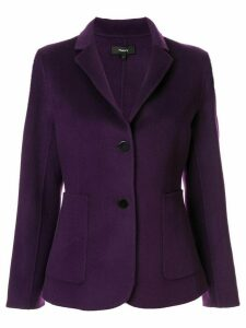 Theory fitted blazer - PURPLE