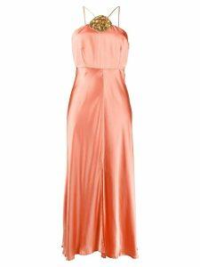 Rixo embroidered shell dress - Pink