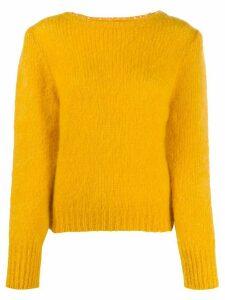 Alexa Chung knitted jumper - Yellow