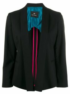 PS Paul Smith open front blazer - Black