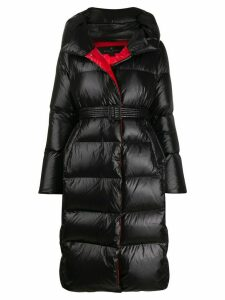 Nicole Benisti oversized padded midi coat - Black