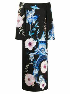 Temperley London Euphoria off-the-shoulder dress - Black