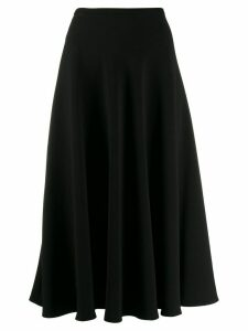 L'Autre Chose high-waisted flared skirt - Black
