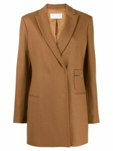 Fabiana Filippi double-breasted blazer - Brown
