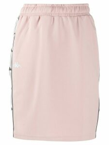 Kappa logo lined fitted skirt - PINK