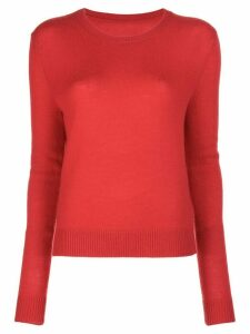 The Elder Statesman Tranquility cashmere jumper - Red