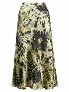 Callipygian tie-dye skirt - Green
