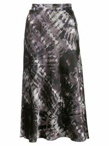Callipygian tie-dye skirt - Grey